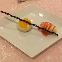元プランコース デザート