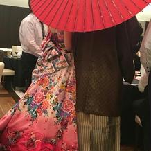 和ドレス&袴♬