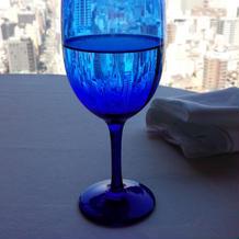 眺めとキレイなグラス