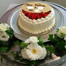 ウエディングケーキ!