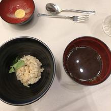 タイご飯とお味噌汁