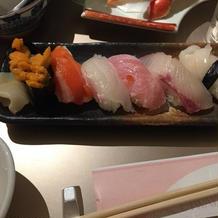 寿司バイキング!毎回楽しみです。