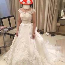 ウエディングドレス(前撮り)