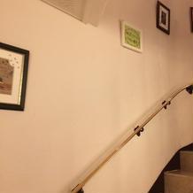 1階から2階へ。少し狭いです