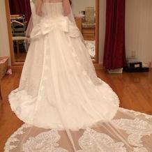 花嫁白ドレス