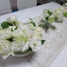 お花は持って帰ってきただきました。