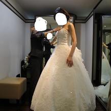 ドレスの打ち合わせは4回通いました。