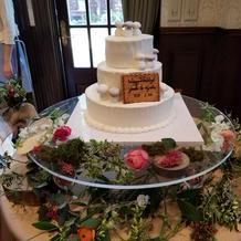 ケーキがキノコでとても可愛い感じのケーキ