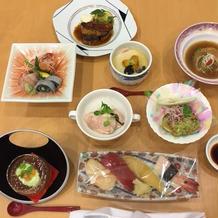 和食だった気がします。