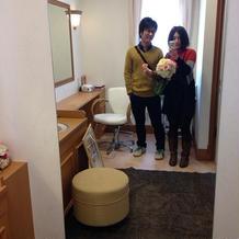 ブライズルームの鏡
