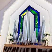 教会内の祭壇