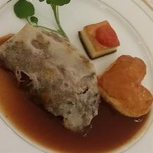 パリパリ生地にお肉が美味しかった。