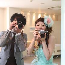 カメラ好きの2人です