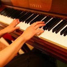 ピアノの生演奏が上品で癒された