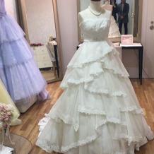 ブライズルームにあったドレス