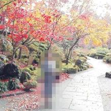 紅葉の時季の庭園7