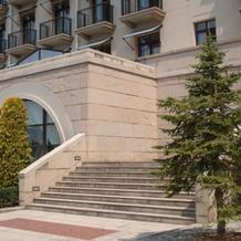 チャペル横階段