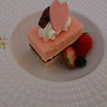 試食④桜のデザート