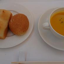 試食②スープとパン