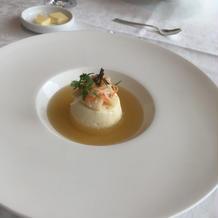 帆立のスープ