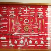 船内の飾り
