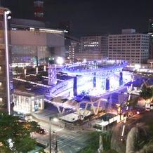 会場からの眺め(夜)