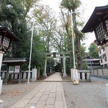 荻窪八幡神社参道