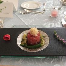 マグロ 前菜