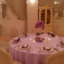 テーブル可愛かったです。