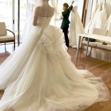 提携店舗1つ目本番ドレス