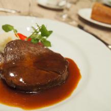 肉料理(牛フィレ)