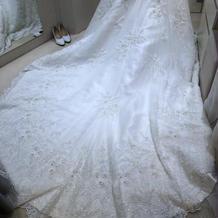 ドレスとても綺麗でした!