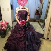 カラードレス②