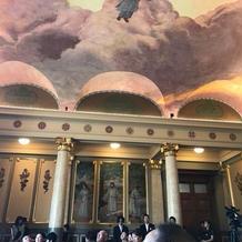 特別室の天井