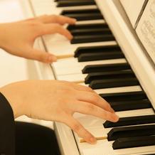 ピアノの演奏があります