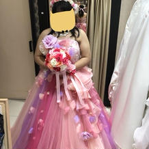 10万円カラードレス 可愛いです!