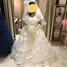 最終的にこのドレスにしました 5万円です
