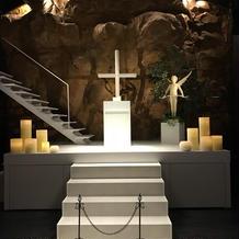 チャペル祭壇。