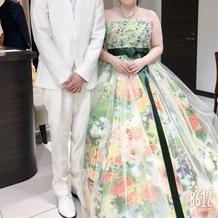 大好きな蜷川実花ドレス