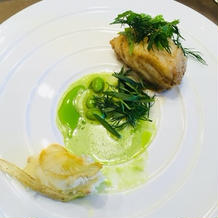 白身魚のお料理