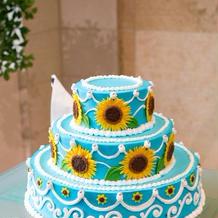 物語から飛び出したかのようなケーキ