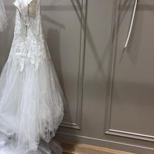 選んだドレス