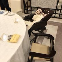 ベビーカーや子供用の椅子