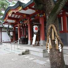 神社の周囲