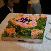ちらし寿司カット