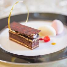 【本番】チョコレートケーキ