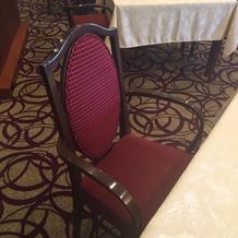 一橋倶楽部の椅子