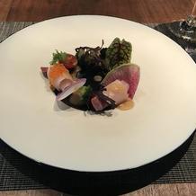 新鮮なお野菜と魚が美味しかった。