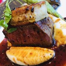 フォアグラと牛フィレ肉の味ロッシーニ風