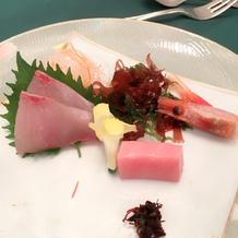 お刺身とても美味しかったです!